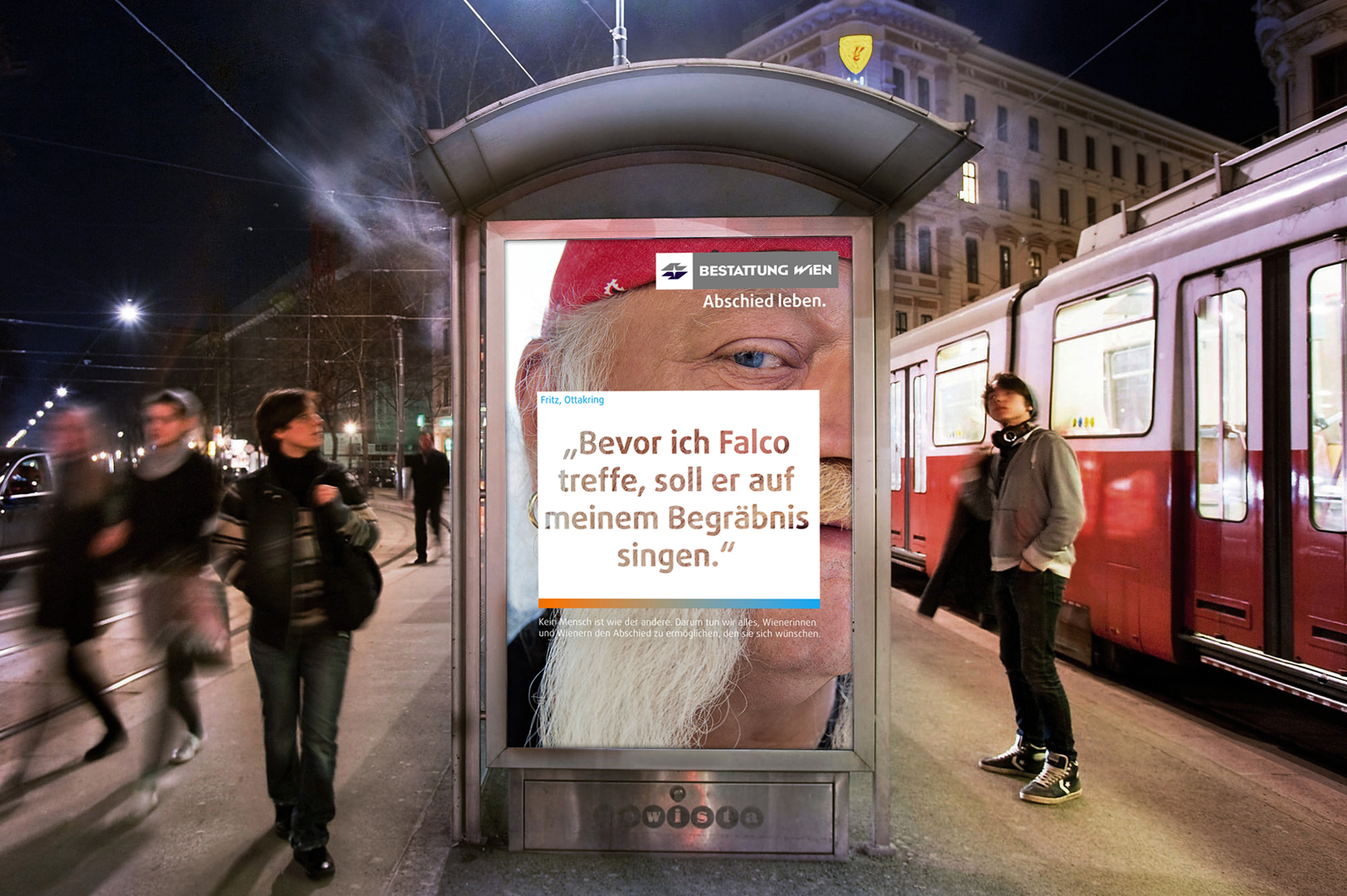 Imagekampagne Für Bestattung Wien Vmlyr Firmenverzeichnis