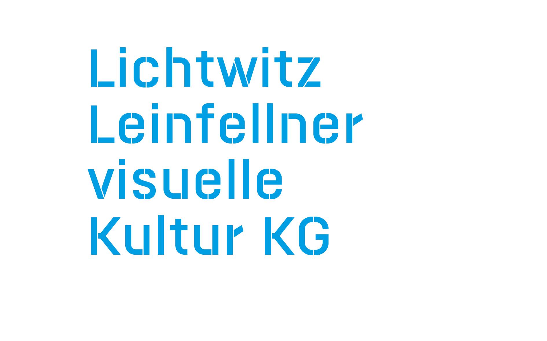 Lichtwitz Leinfellner visuelle Kultur KG