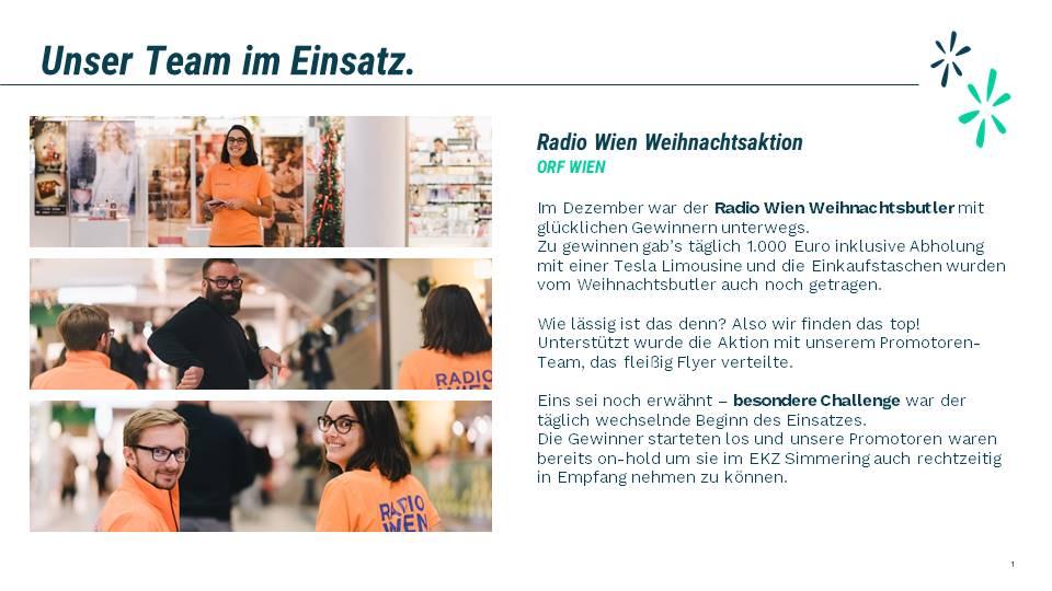 Radio Wien Gewinnspiel Weihnachtsbutler